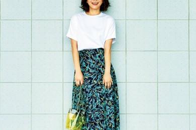 2019夏、40代におすすめの「ロングスカート」人気コーデ25選