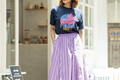 【街のオシャレ40代SNAP!September⑨】Tシャツスタイルこそ個性で勝負