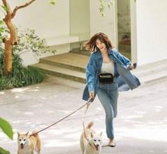 3連休の初日は【デニムコーデ】で愛犬とゆっくり過ごす[9/14 Sat.]