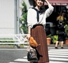 【街のオシャレ40代SNAP!September②】人気モデル武藤京子さんの上級プチプラ使い