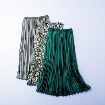 PLST (プラステ)の「サテンプリーツスカート」を 計8名様にプレゼント!
