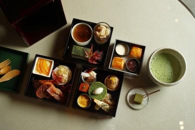 有機茶葉のスイーツが楽しめる、パレスホテル東京の「日本茶アフタヌーンティー」