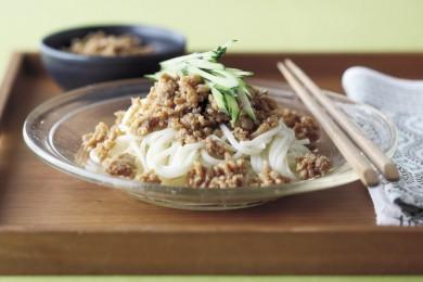 チキン醬油サルサ素麺【簡単!夏休みのお昼ご飯レシピ】