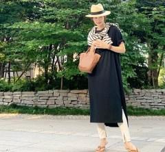 武藤京子ブログ「SALEで買った パナマハットをすぐかぶった 先日のお洋服」