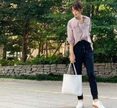 武藤京子ブログ「届いたばかりの秋物 @H/STANDARD のシャツと ハッピーアワー」