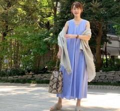 武藤京子ブログ「紫外線と エアコン対策に ストールコーディネート」