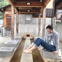 7月のいろいろ ~蔵王の公共足湯とこけし館~