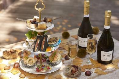 いちょう並木で乾杯!テラスでシャンパンが楽しめる至福のプランが登場