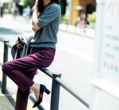 大人気の【プラステ】パンツ、今年はバーガンディに更新![10/21 Mon.]
