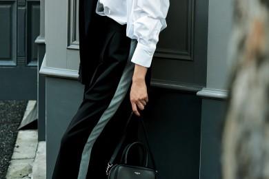 きちんと白シャツでオシャレな音楽祭ファッション[10/26 Sat.]