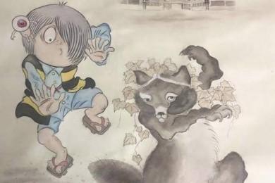 「ゲゲゲの鬼太郎と比叡山の七不思議展」が比叡山延暦寺で初開催