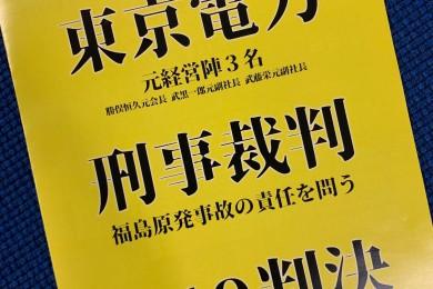 私たちのCHALLENGE STORY・番外編~9月19日、東電強制起訴裁判が結審します
