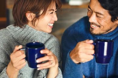 家族円満に一役!モデル畑野ひろ子さん夫婦、一杯のコーヒーでくつろぎ方改革始めます