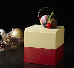 ケーキの玉手箱!?和の美が映えるサプライズな逸品