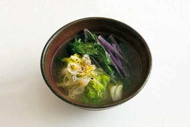青み野菜のスープ【プロに聞いたお家ごはんレシピ】