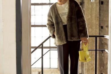 明日から師走なんて!大掃除もできちゃうTシャツファッション[11/30 Sat.]