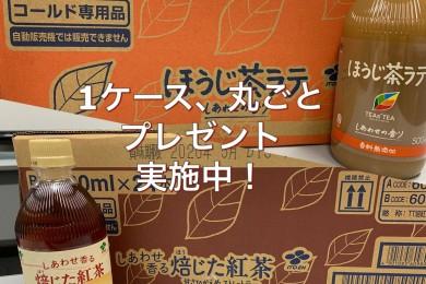 TEAs'TEA「ほうじ茶ラテ」「焙じた紅茶」が1ケース当たるキャンペーン実施中!