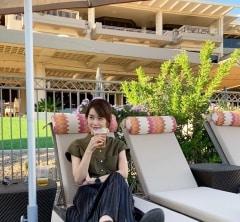 武藤京子ブログ「ちょっと遅めの夏休み② 到着後」