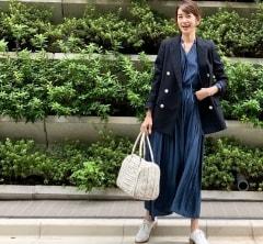 武藤京子ブログ「@ELENDEEK×大草直子さん コラボワンピースでコーディネート」