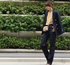 武藤京子ブログ「デニムを ジャケットと パンプスで ちょっとだけお出かけ仕様に」