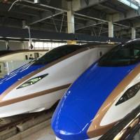 #がんばれ北陸新幹線  に励まされました