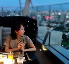 バンコクの夜景を望むルーフトップバー