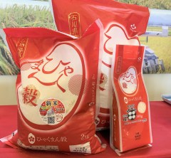 新米の季節!石川の新品種「ひゃくまん穀」