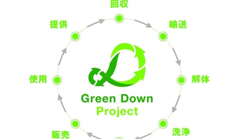 百貨店初! Green Down Project(グリーンダウンプロジェクト)と協業したダウンコート引き取りサービスがスタート!15日まで!