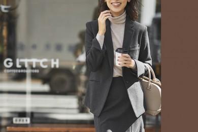 【日めくり7days①Tue】デスクワーク長めの日は、シワになりにくい素材のスーツが頼れる!
