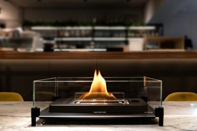 美しい炎を演出する「ラヴィンフレーム」が日本初上陸