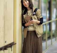 大人気【ノースフェイス】は女らしいスカートで上品MIX![12/5 Thu.]