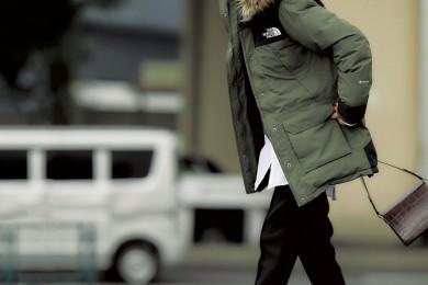 肌寒い日は【ノースフェイス】のアウターでスポーティなオシャレ[12/10 Tue.]