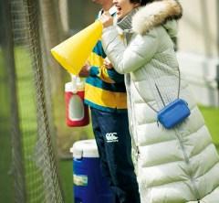 長男のラグビーの練習試合。極寒ですが【ロングダウン】と応援しまくりでポカポカ[12/21 Sat.]