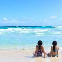 青い空と海に癒されて・・・カンクンでのんびり♬