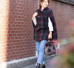 【街のオシャレ40代SNAP! December②】大人っぽい配色がカジュアルを格上げ!