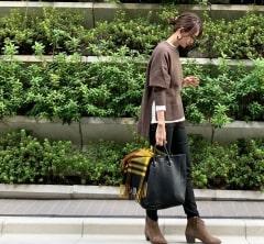 武藤京子ブログ「アウター代わりのストールすら使わなかった 先日のお洋服」