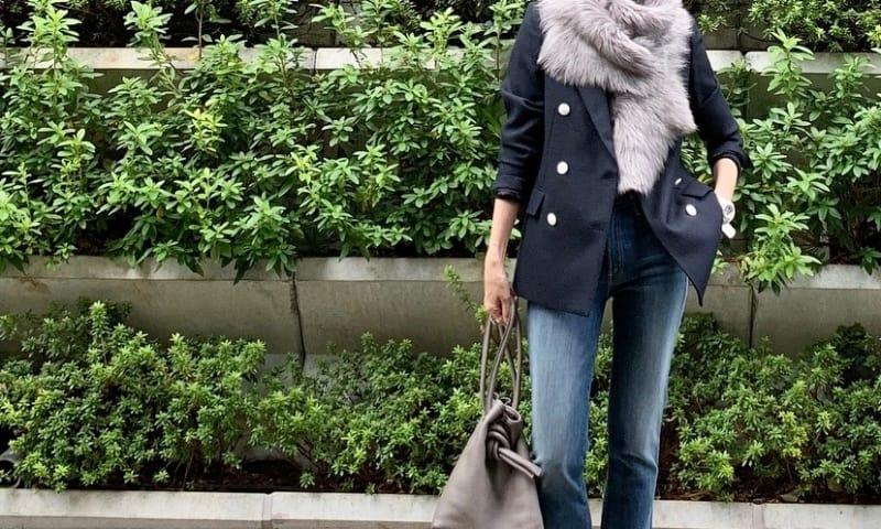 武藤京子ブログ「ジャケット×デニム を ファーストールでお出かけ仕様に」