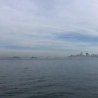 霧のサンフランシスコへ