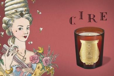 フランス最古の老舗キャンドルメーカー「CIRE TRUDON」より「センティッドキャルドル シール」が発売になります!