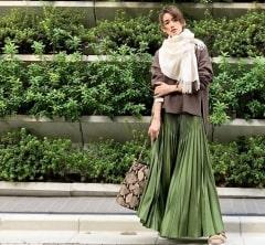 武藤京子ブログ「まだアウターが要らなかった先日の服」