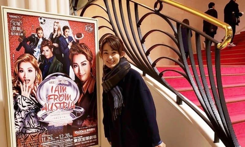 武藤京子ブログ「初めての宝塚観劇に行ってきました!」