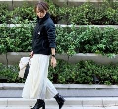 武藤京子ブログ「去年買いそびれた フリースジャケットで コーディネート」