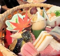 夜の金沢城と最高の和食