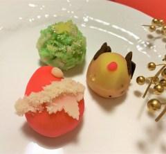 金沢和菓子でメリークリスマス☆