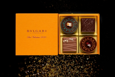 ブルガリ ホテルを旅するようなバレンタイン限定チョコレート