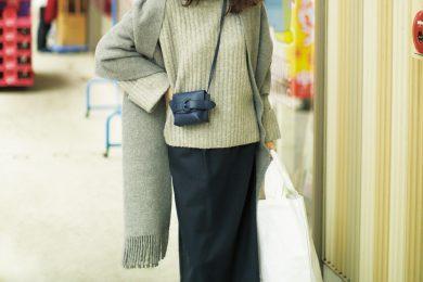 【ミニバック】&エコバッグのWバッグで溜まった洗濯物をクリーニング屋さんへ[2/9 Sun.]