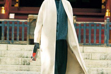 受験の合格祈願は爽やかで縁起もいい【白コート】で![2/4 Tue.]