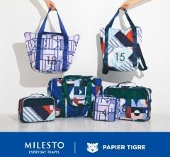 旅に持っていくだけで、気分をアゲてくれる「MILESTO×PAPIER TIGRE」のコレクション
