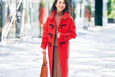 【街のオシャレ40代SNAP! Feb⑦】明るいコートで気分も一気にアガる