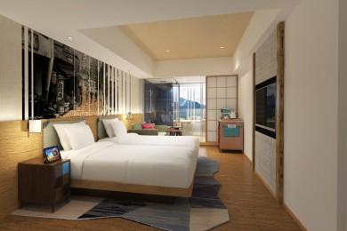 日本初のホテルインディゴが箱根強羅に誕生